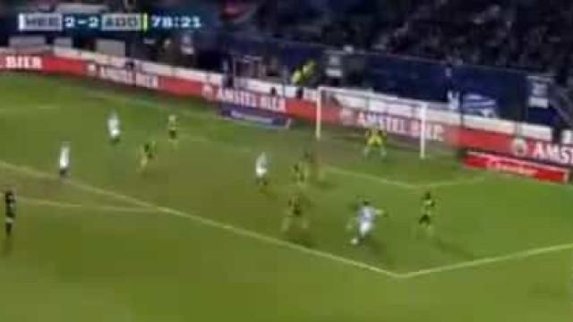 Este golo de Alen Halilovic na Holanda é uma maravilha para ver e rever