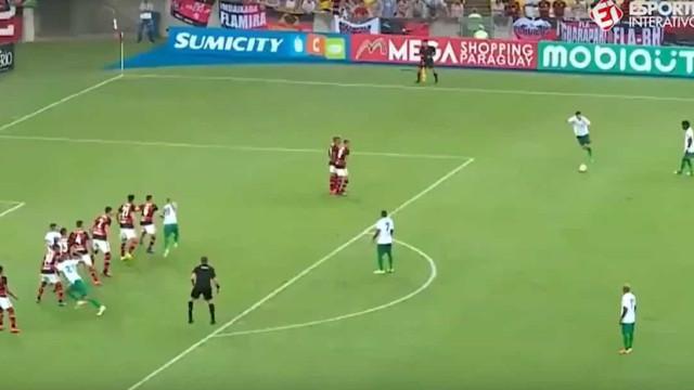 Este golaço deixou Jesus em apuros na final da Taça do Guanabara