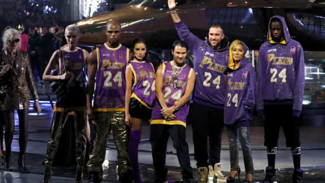 Kobe Bryant homenageado em desfile da Semana da Moda de Milão