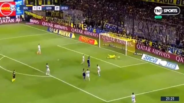 Show de Salvio em Buenos Aires: Atenção a este golaço do ex-Benfica
