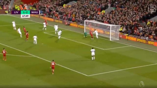 Salah empatou com 'capão' monumental de guarda-redes pedido por Lage