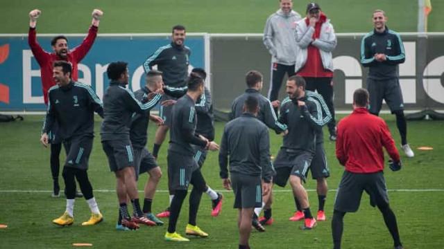 Cuadrado fez esta maldade a Ronaldo e acabou a rir-se do português
