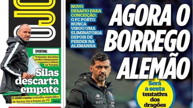 Por cá: Sporar traça meta e FC Porto já 'afia a faca'