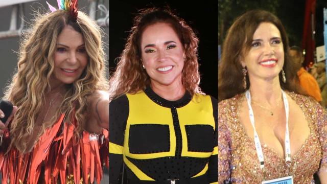 As famosas com mais de 50 anos que brilharam no Carnaval