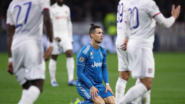 CR7 em branco e Juventus com tarefa mais difícil na Champions