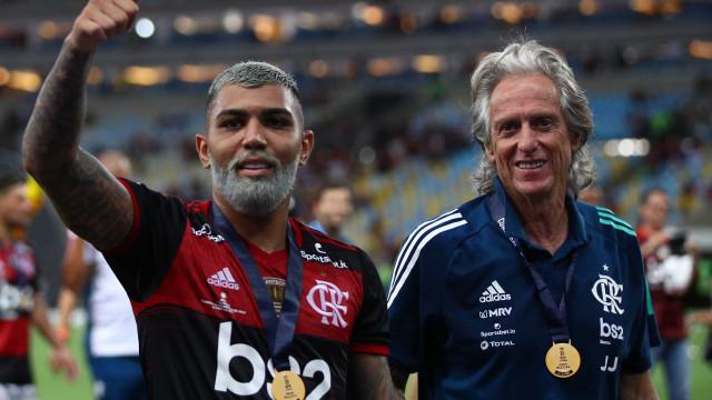 Flamengo de Jorge Jesus conquista Supertaça sul-americana