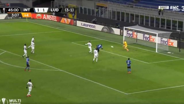 O golo caricato de Lukaku que deu a vitória ao Inter