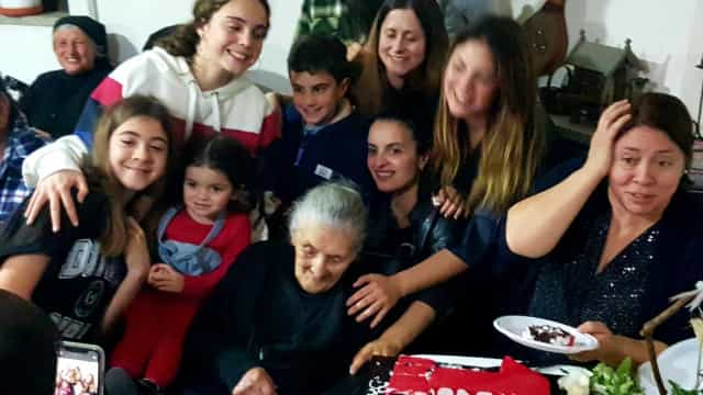 Centenária. 'Ti Maria Casanova' celebra 105 anos de vida