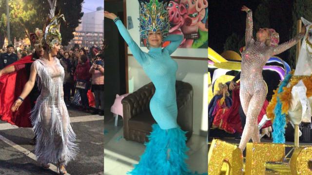 Look da semana: Qual o melhor fato de Carnaval de Luciana Abreu?