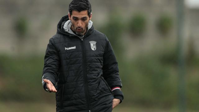 Oficial: Custódio deixa comando técnico do Sporting de Braga