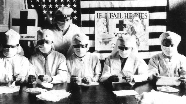 Como foi passar pela pandemia da 'gripe espanhola' de 1918