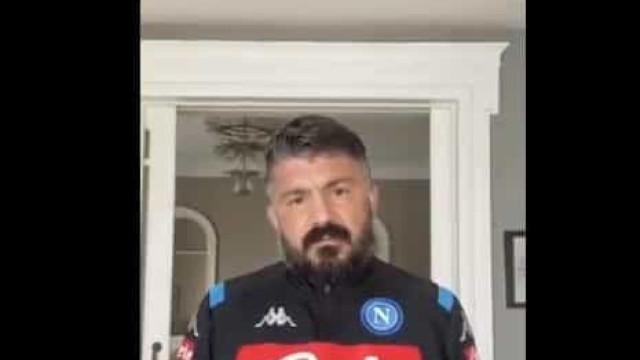 """O apelo de Gattuso aos italianos: """"Peço-vos que fiquem em casa"""""""