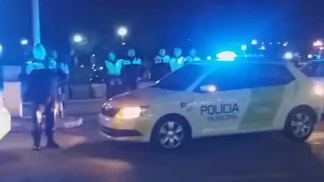 Polícia Municipal agradece a profissionais no Hospital de Santa Maria