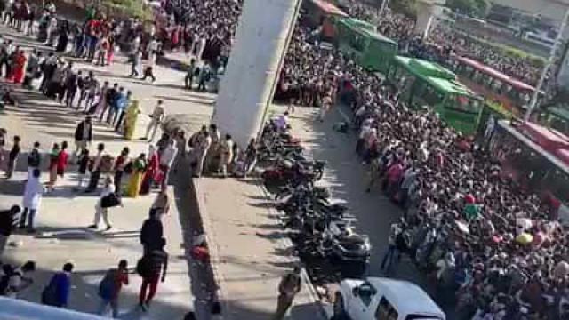 Covid-19: Milhares tentam 'fugir' das cidades após perderem trabalho