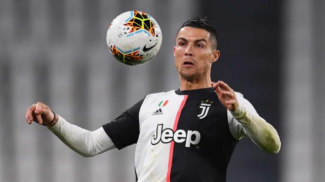CR7 fora do pódio dos jogadores mais valiosos da Serie A