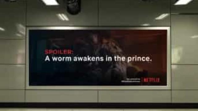 Netflix: Se não quer 'spoilers', fique em casa. Esta campanha já é viral