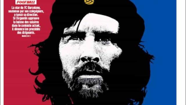 Lá fora: Messi é o Che Guevara do Barcelona?