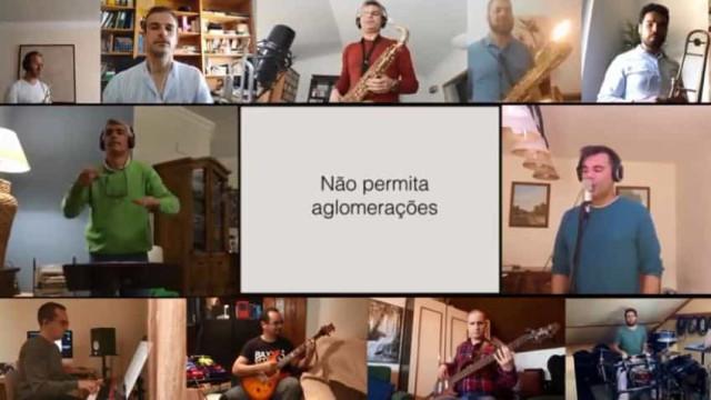 Covid-19. Banda da Armada cria música original sobre o tempo que vivemos