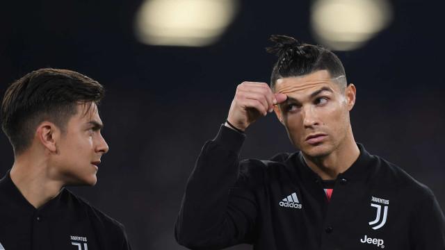 """Dybala: """"Disse ao Ronaldo que na Argentina o odiávamos"""""""