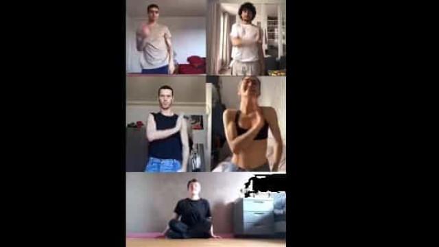 Bailarinos juntam-se à distância para coreografia que se tornou viral