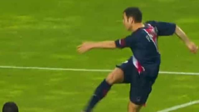 PSG recorda golaço do 'matador' Pauleta