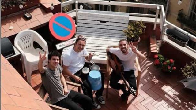 Stay Homas: De um terraço de Barcelona nasceu uma nova boy band