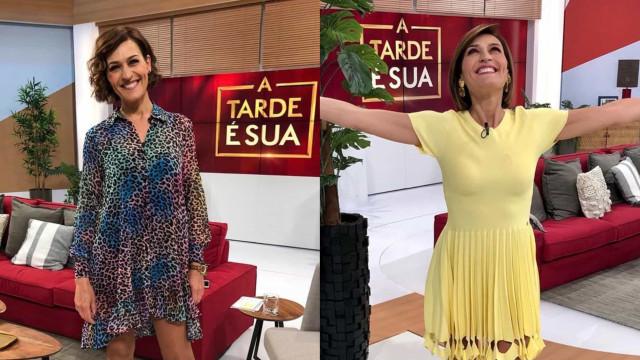 Look da semana: O regresso de Fátima Lopes à TVI após quarentena