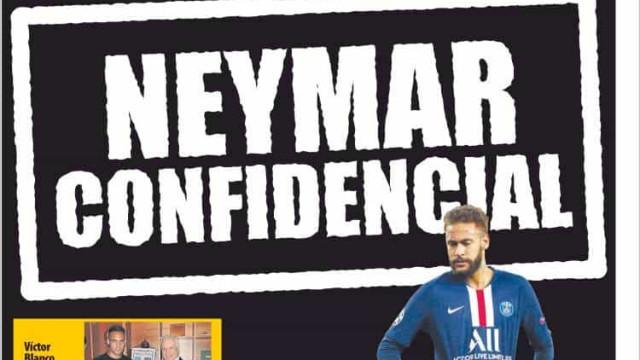 Lá fora: Corte salarial na Premier League e o regresso da 'novela Neymar'