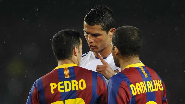 Espanhóis revelam acesa troca de palavras entre CR7 e Pedro Rodríguez