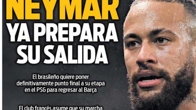 Lá fora: A saída de Neymar, o isolamento de CR7 e uma mensagem especial