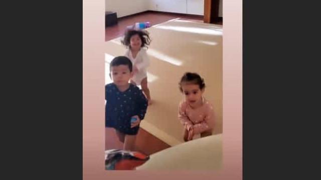 Vídeo: Luxos para quê? Surpresa simples de Georgina deixa bebés em êxtase