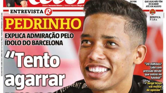 Por cá: Sindicato defende jogadores, Pedrinho nas pisadas de Messi
