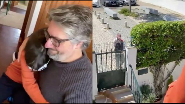 """Nuno Markl e filho emocionam com carta que escreveram ao """"Sr. Carteiro"""""""