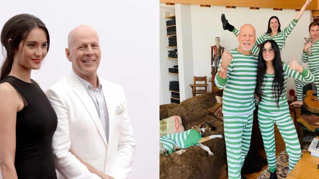 Bruce Willis de quarentena com Demi Moore: A opinião da atual mulher