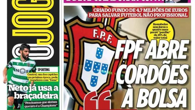 Por cá: Sangue novo no Sporting, FPF apoia clubes e o plano médico