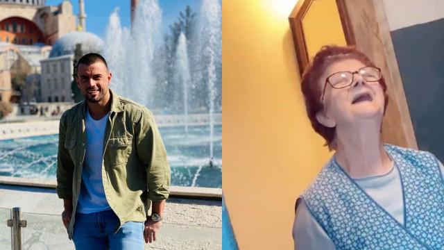 "Vídeo: Marco Costa mostra a avó e explica porque andava ""desaparecida"""