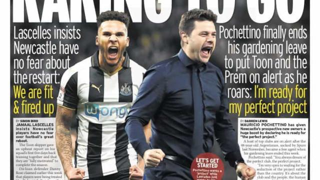 """Lá fora: Pochettino fala de Mourinho e Inter dança o """"tango"""" em Paris"""