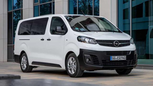 Opel Vivaro Combi chega a Portugal com três variantes