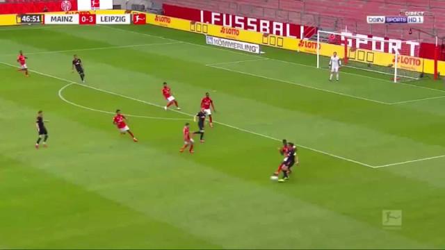 A jogada do Leipzig que faria inveja ao Barça do tiki-taka