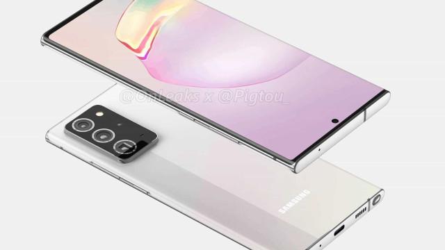 Galaxy Note 20. Estas podem ser as primeiras imagens