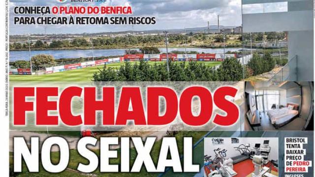 Por cá: Sporting negoceia, Benfica 'fecha' e lesões preocupam