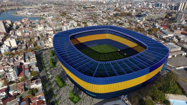 Boca Juniors anuncia planos para a 'nova' Bombonera