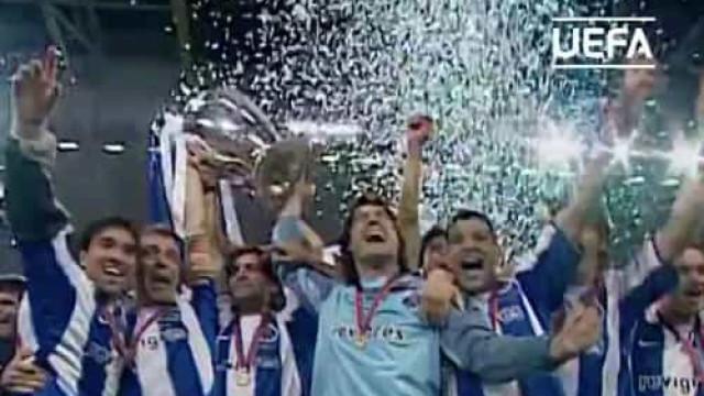 Há 16 anos, Carlos Alberto, Deco e Alenichev davam Champions ao FC Porto