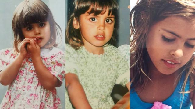 Carolina Patrocínio faz anos! As adoráveis memórias de infância