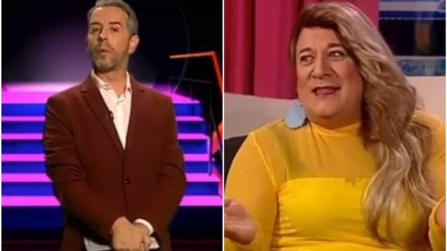 Equipa de Herman José faz imitação hilariante do 'Big Brother'