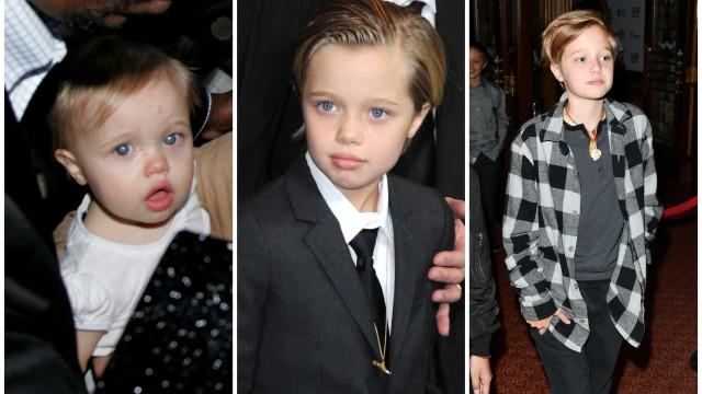 Filha de Brad Pitt e Angelina Jolie está de parabéns! Shiloh faz 14 anos