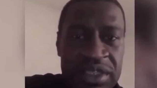 Antes de morrer, George Floyd gravou video a apelar ao fim da violência