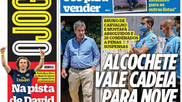 """Por cá: Alcochete chega ao fim e Benfica fecha-se """"a sete chaves"""""""