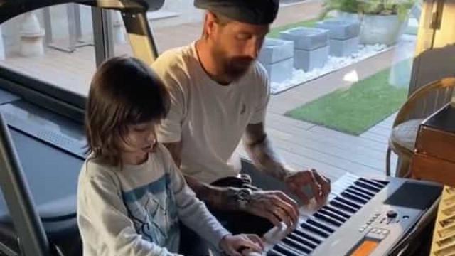 Sergio Ramos dedica mensagem emotiva ao filho