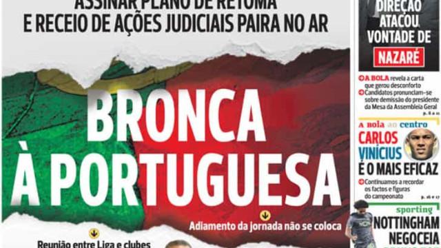 """Por cá: """"Bronca à portuguesa"""", David Luiz e eleições no Dragão"""